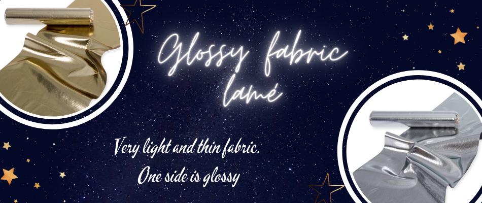 glossy fabric