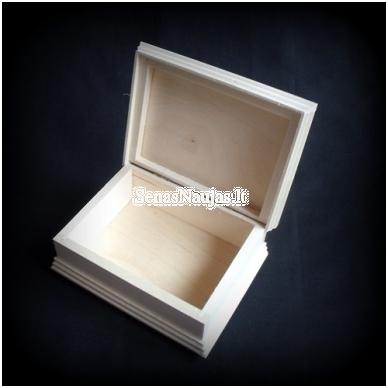 Medinė puošni dėžutė 6