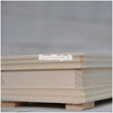 Medinė puošni dėžutė 4
