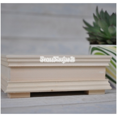 Medinė puošni dėžutė 3
