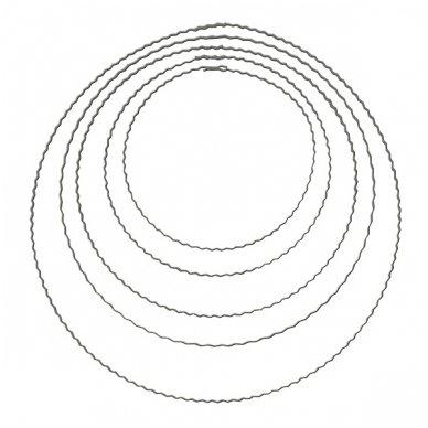 Metalinis žiedas vainikams, 25 cm. 1 vnt.