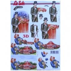 3D iškilus popierius