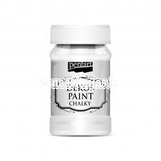 Akriliniai kreidiniai dažai, balta sp.