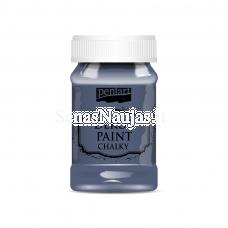 Akriliniai kreidiniai dažai, indigo mėlyna sp.