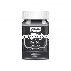 Akriliniai kreidiniai dažai, juoda sp.