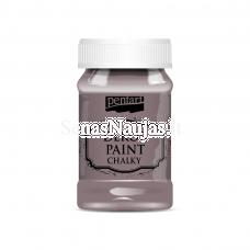 Akriliniai kreidiniai dažai, kaimiška violetinė sp.