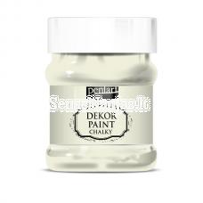 Akriliniai kreidiniai dažai, kreminė-balta sp.