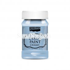 Akriliniai kreidiniai dažai, linų mėlyna sp.
