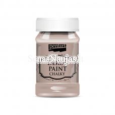 Akriliniai kreidiniai dažai, vintažinė ruda sp.