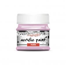 Akriliniai matiniai dažai, rožinė sp.