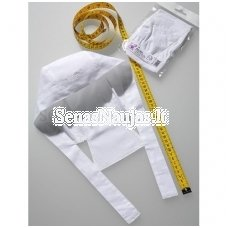 White cotton bandana (child size)