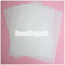 Ivory rice paper, 5 sheets