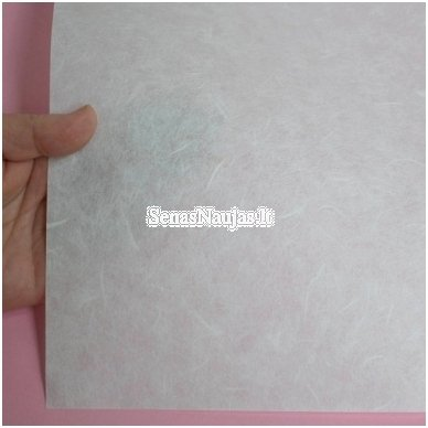Baltas ryžinis popierius, 10 lapų 3