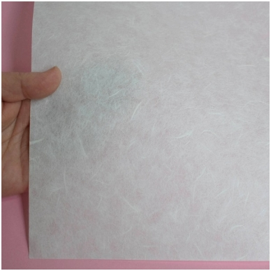 Baltas ryžinis popierius, 10 lapų 2