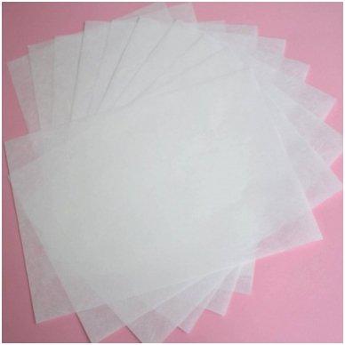 Baltas ryžinis popierius, 20 lapų