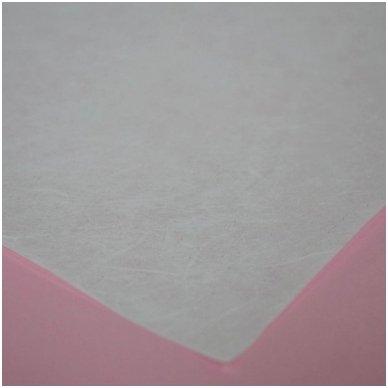 Baltas ryžinis popierius, 20 lapų 2