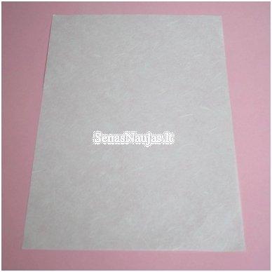 Baltas ryžinis popierius, 1 lapas 3