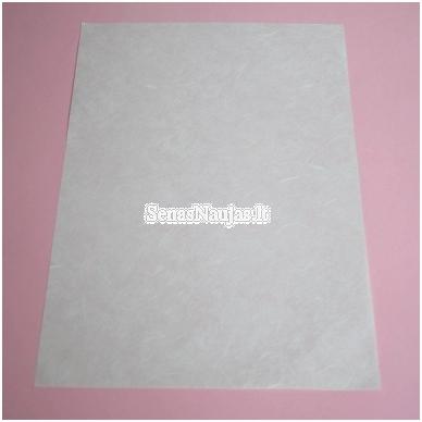 Baltas ryžinis popierius, 5 lapai 3