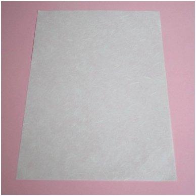 Baltas ryžinis popierius, 5 lapai 4