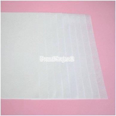 Baltas ryžinis popierius, 10 lapų