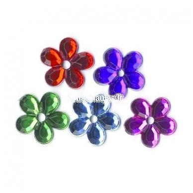 Blizgios metalinės gėlytės