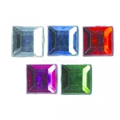 Blizgūs metaliniai kvadratai 2