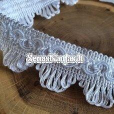 Dekoratyvi juostelė, balta spalva