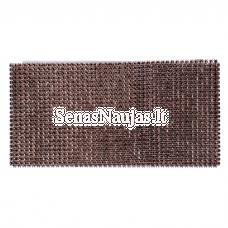 Dekoratyvi juostelė su plastikinėmis akutėmis, ruda spalva