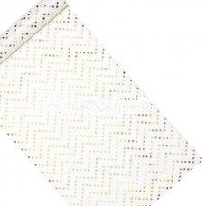 Dekoratyvus audinys su žvaigždėmis