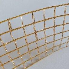 Dekoratyvus tinkliukas, aukso spalva