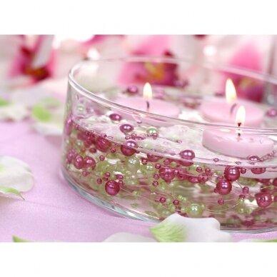 Dirbtinių perlų girlianda, perlų spalva 5