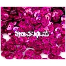 Facetuoti žvyneliai siuvinėjimui, tamsi rožinė spalva