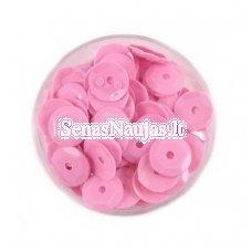 Facetuoti žvyneliai siuvinėjimui, rožinė spalva