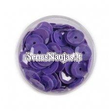 Facetuoti žvyneliai siuvinėjimui, violetinė spalva
