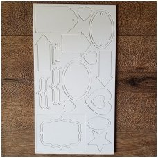Chipboard set, 2 sheets