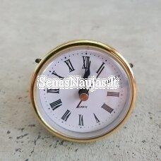 Įspaudžiamas laikrodžio mechanizmas, aukso sp.