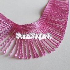 Juostelė su kutais, ryški rožinė spalva
