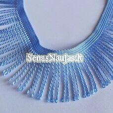 Juostelė su kutais, šviesi mėlyna spalva