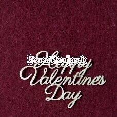 Kartoninė formelė HAPPY VALENTINES DAY, 1 vnt.
