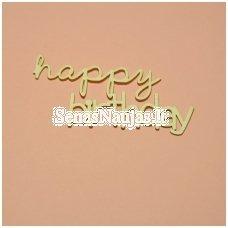 Kartoninė formelė HAPPY BIRTHDAY, 1 vnt.