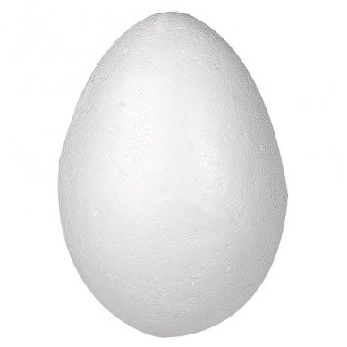 Kiaušinis iš putplasčio, dviejų dalių, 1 vnt. 2