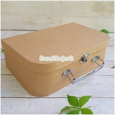 Papier-mâché Suitcase