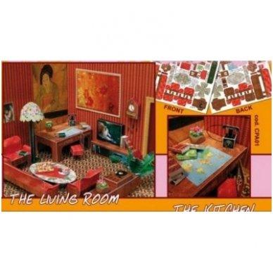 Lėlių namai, svetainė