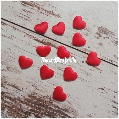 Lipnios širdelės, 1 vnt. (raudona sp.)
