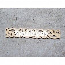 Medinė dekoravimo detalė JUOSTELĖ