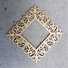 Medinė dekoravimo detalė RĖMELIS