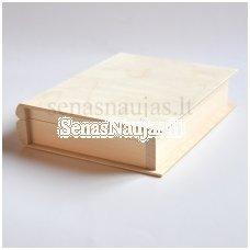 Medinė dėžutė – knyga