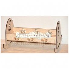 Medinė supama lova
