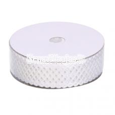 Fabric openwork ribbon, white color