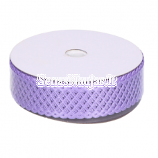 Fabric openwork ribbon, violet color